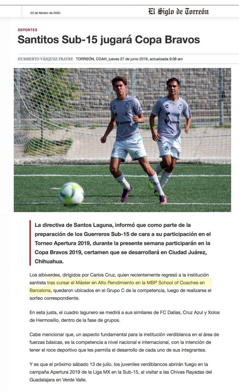 2020 02 16 El Siglo de Torreon Santos Laguna scaled 1 Imprensa MBP