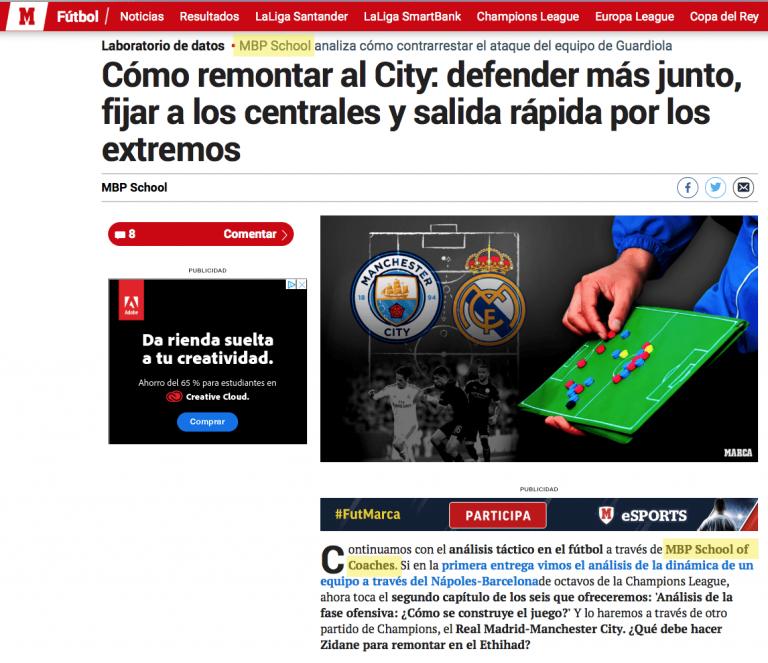 Manchester City Imprensa MBP